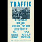 BG # 111-2 Traffic Fillmore Poster BG111