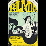BG # 113-1 Country Joe and the Fish Fillmore Poster BG113