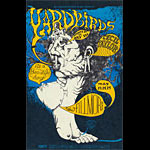 BG # 121 Yardbirds Fillmore postcard - ad back BG121