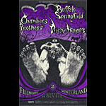 BG # 122-1 Buffalo Springfield Fillmore Poster BG122