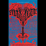 BG # 125-1 Chambers Brothers Fillmore Poster BG125