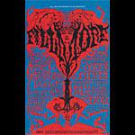 BG # 125-1 Chambers Brothers Fillmore Poster BG125