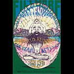 BG # 127-1 Creedence Clearwater Revival Fillmore Poster BG127
