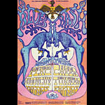 BG # 128-1 Electric Flag Fillmore Poster BG128