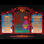 BG # 133 The Who Fillmore postcard BG133
