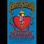 BG # 136 Big Brother & the Holding Co. Fillmore postcard - stamp back BG136