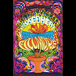 BG # 139 Canned Heat Fillmore postcard - ad back BG139