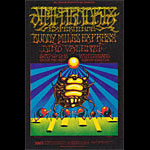BG # 140-1 Jimi Hendrix Experience Fillmore postcard BG140