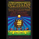 BG # 140ad-1 Jimi Hendrix Experience Fillmore postcard BG140ad