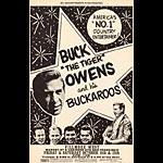 BG # 140A-1 Buck Owens & his Buckaroos Fillmore Poster BG140A