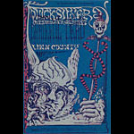 BG # 144 Quicksilver Messenger Service Fillmore postcard - ad back BG144