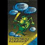 BG # 146 Moody Blues Fillmore postcard - ad back BG146