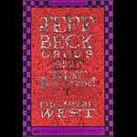 BG # 148 Jeff Beck Group Fillmore postcard - stamp back BG148