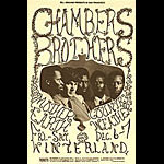 BG # 148A Chambers Brothers Fillmore postcard BG148A