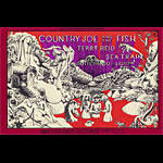 BG # 149-1 Country Joe and the Fish Fillmore Poster BG149