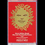 BG # 151-1 Steve Miller Band Fillmore Poster BG151
