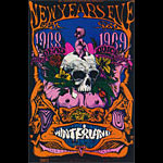 BG # 152 Grateful Dead Fillmore postcard - stamp back BG152