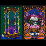 BG # 152/153 Grateful Dead Fillmore double postcard BG152/153