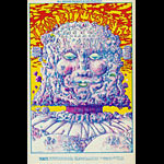 BG # 157 Iron Butterfly Fillmore postcard - stamp back BG157
