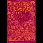 BG # 162-1 Grateful Dead Fillmore Poster BG162