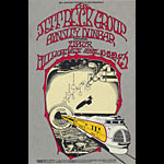 BG # 168 Jeff Beck Group Fillmore postcard BG168