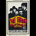 BG # 169-2 The Band Fillmore Poster BG169