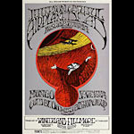 BG # 171-2 Jefferson Airplane Fillmore Poster BG171