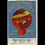 BG # 171 Jefferson Airplane Fillmore postcard - ad back BG171