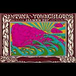 BG # 173 Santana Fillmore postcard BG173