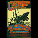 BG # 174 Creedence Clearwater Revival Fillmore postcard BG174