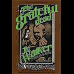 BG # 176 Grateful Dead Fillmore postcard - ad back BG176