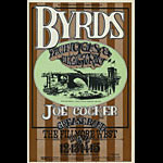 BG # 177 Byrds Fillmore postcard - ad back BG177