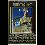 BG # 178 The Who Fillmore postcard - ad back BG178