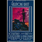 BG # 179 Iron Butterfly Fillmore postcard - ad back BG179