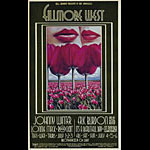 BG # 180-1 Johnny Winter Fillmore Poster BG180