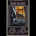 BG # 181-1 B.B. King Fillmore Poster BG181