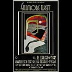BG # 185 Fleetwood Mac Fillmore postcard BG185