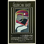BG # 185 Fleetwood Mac Fillmore postcard - ad back BG185