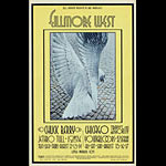 BG # 187 Chuck Berry Fillmore postcard BG187