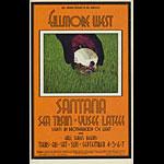 BG # 190 Santana Fillmore postcard BG190