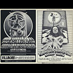 BG # 191_192 Steve Miller Band Fillmore double postcard BG191_192