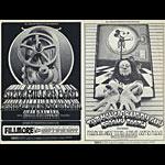 BG # 191_192 Steve Miller Band Fillmore postcard BG191_192