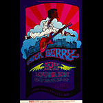 BG # 193 Chuck Berry Fillmore postcard BG193