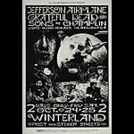 BG # 197-1 Jefferson Airplane Fillmore Poster BG197