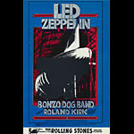 BG # 199 Led Zeppelin Fillmore postcard - ad back BG199