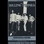 BG # 202 Rolling Stones Fillmore postcard - blank back BG202