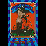 BG # 203 Jethro Tull Fillmore postcard - ad back BG203
