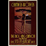 BG # 206-1 Chambers Brothers Fillmore Poster BG206