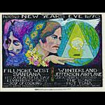 BG # 209 Santana Fillmore postcard BG209