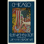 BG # 211 Chicago Fillmore postcard - ad back BG211